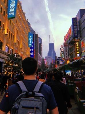 Marveling at Nanjing Road