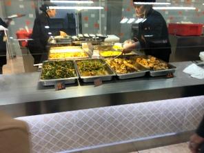Cafeteria at SJTU.